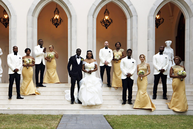 Chateau Cocomar Wedding Photographer | Nigerian Wedding Photographer | Sneak Preview:  Kim and Niye's Nigerian Wedding!